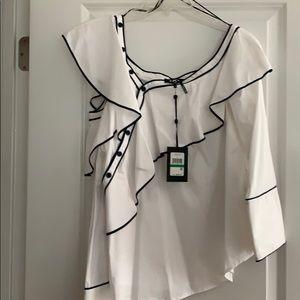 Dkny dress blouse
